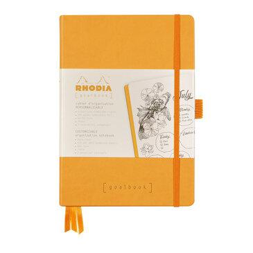 Rhodiarama : GoalBook Hardcover - A5 - Orange (5841)