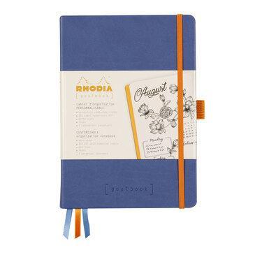 Rhodiarama : GoalBook Hardcover - A5 - Sapphire Blue (5773)