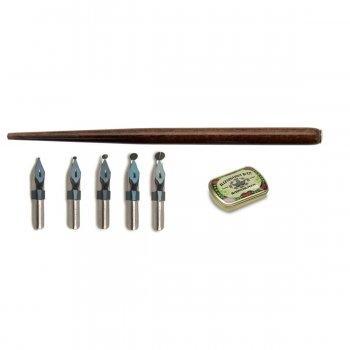 Leonardt - Ornamental Dip Pen & Nib Set