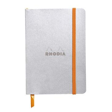 Rhodiarama : Notebook Softcover - A6 - Silver (3510)