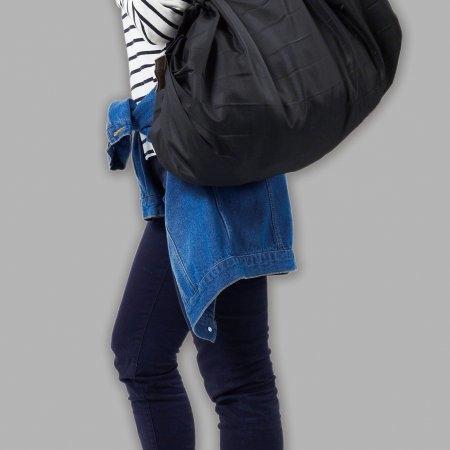 Shupatto Compact Bag - Tote Large - Black