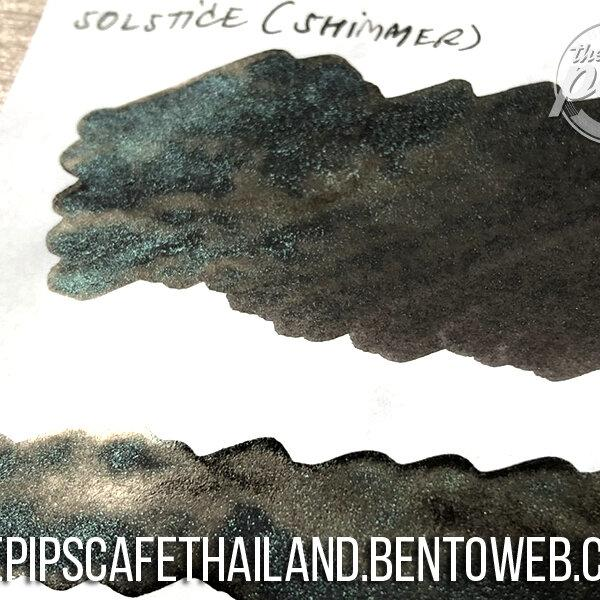 Diamine : Solstice (Shimmer) - Inkvent Blue Edition (50ml.)
