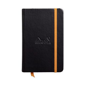 Rhodiarama : Notebook Hardcover - A6 - Black (6428)