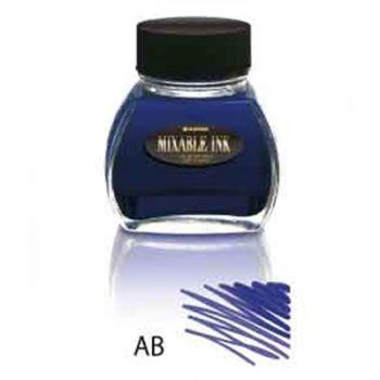 Platinum : Mixable Ink (60cc.) - Aurora Blue