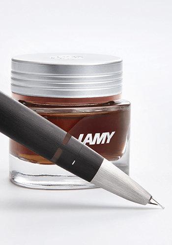 Lamy : Crystal Ink - Obsidian (30ml.)