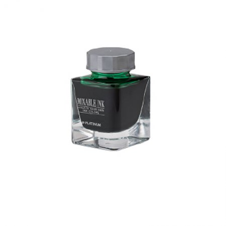Platinum : Mixable Ink - Leaf Green (20ml.)