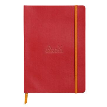 Rhodiarama : Notebook Softcover - A5 - Poppy Red (4630)