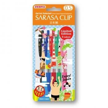 Zebra Sarasa Clip - Green - Enjoy Japan! Limited Edition