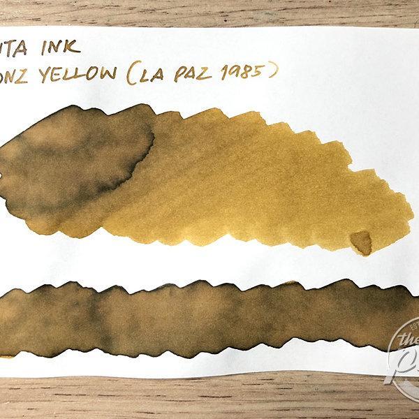 Vinta Ink : Bronze Yellow [La Paz 1985] (30 ml.)