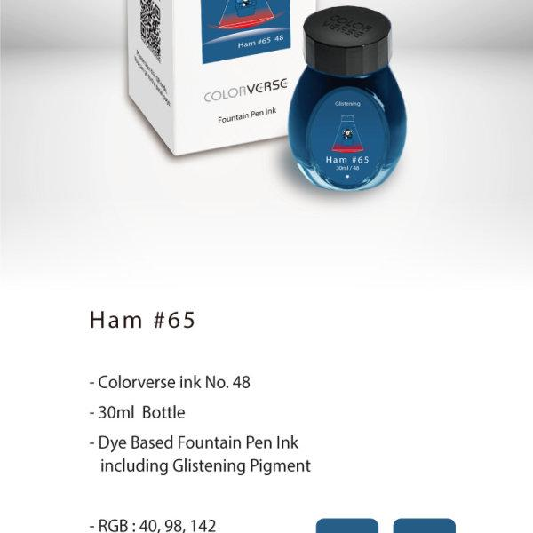 Colorverse Ink : Glistening - Ham (30 ml.)