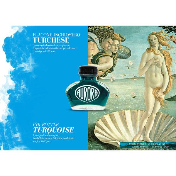 Aurora : 100th Anniversary Ink - Turquoise (55ml.)