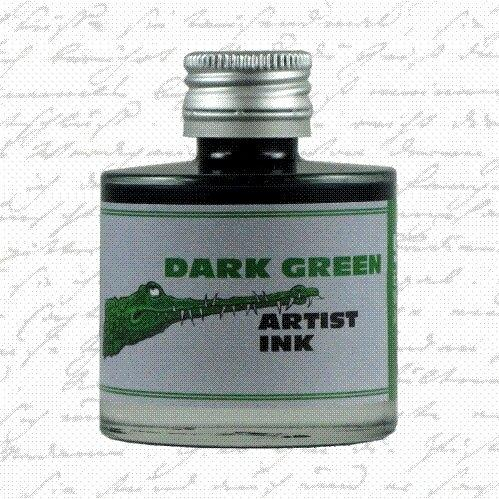 De Atramentis - Artist ink - Dark Green (50ml.)