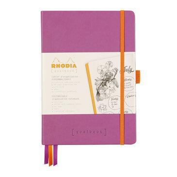 Rhodiarama : GoalBook Hardcover - A5 - Lilac (5803)