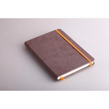 Rhodiarama : Notebook Hardcover - A5 - Chocolate (7432)