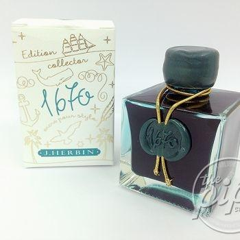 J.Herbin 1670 - Emerald of Chivor (50ml.)