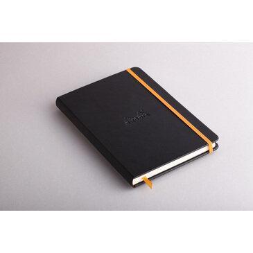 Rhodiarama : Notebook Hardcover - A5 - Black (7425)