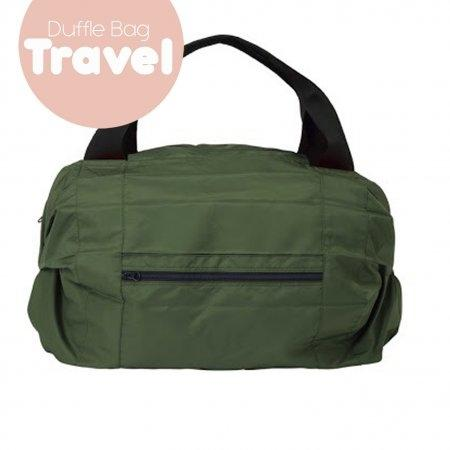 Shupatto Compact Bag - Travel Duffle Bag - Olive