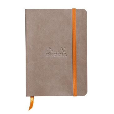 Rhodiarama : Notebook Softcover - A6 - Taupe (3541)