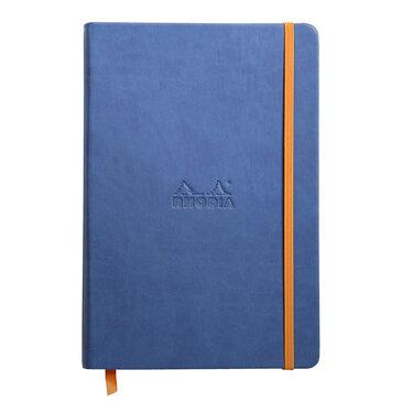 Rhodiarama : Notebook Hardcover - A5 - Sapphire Blue (7487)