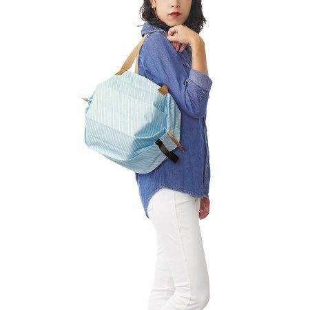 Shupatto Compact Bag - Insulated Bag (M) - Stripe