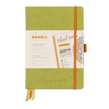 Rhodiarama : GoalBook Hardcover - A5 - Anise Green (5759)