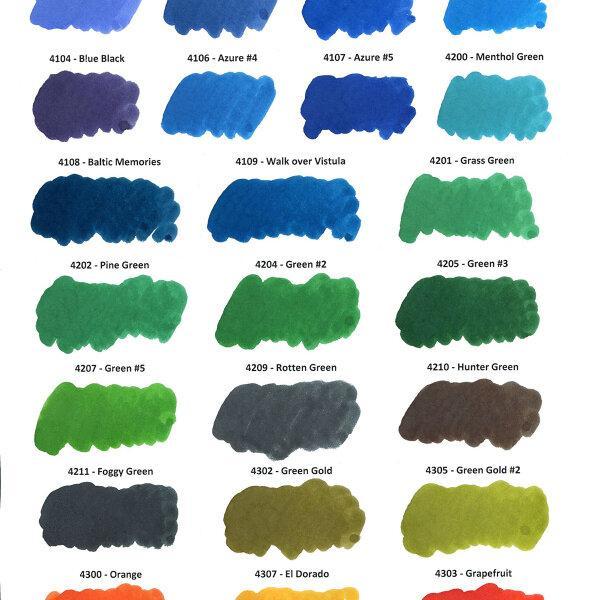 KWZ Ink : Foggy Green (60ml.)