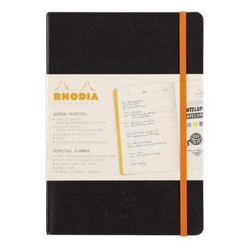 Rhodiarama : Perpetual Softcover - A5 - Black (1820)