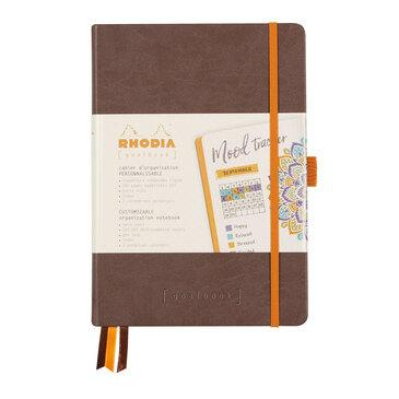 Rhodiarama : GoalBook Hardcover - A5 - Chocolate (5728)