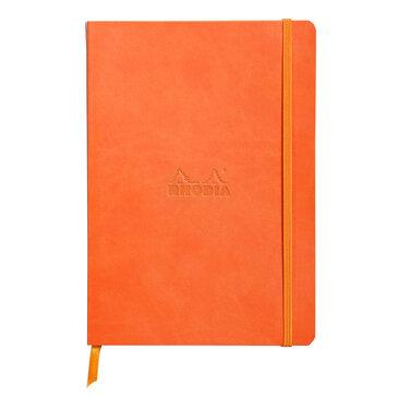 Rhodiarama : Notebook Softcover - A5 - tangerine (4647)
