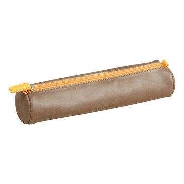 Rhodia : Round pencil case - Chocolate (8932)