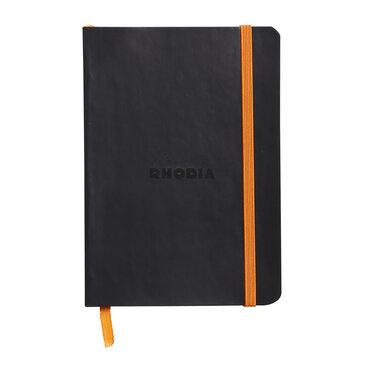 Rhodiarama : Notebook Softcover - A6 - Black (3527)