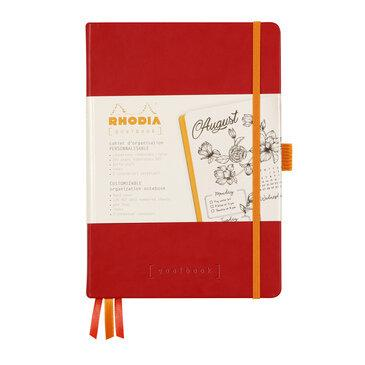 Rhodiarama : GoalBook Hardcover - A5 - Poppy (5827)