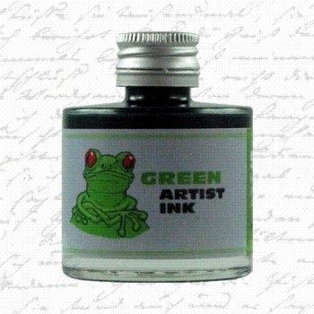 De Atramentis - Artist ink - Green (50ml.)