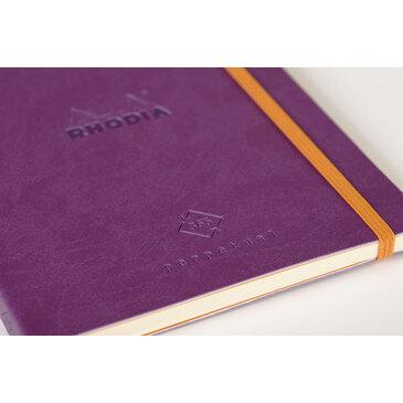Rhodiarama : Perpetual Softcover - A5 - Purple (1905)
