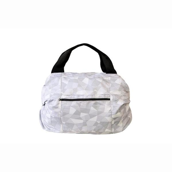 Shupatto Compact Bag - Travel Duffle Bag - Monotone Pattern