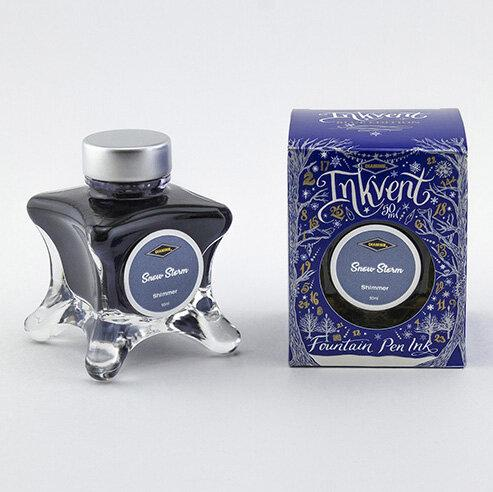Diamine : Snow Storm (Shimmer) - Inkvent Blue Edition (50ml.)