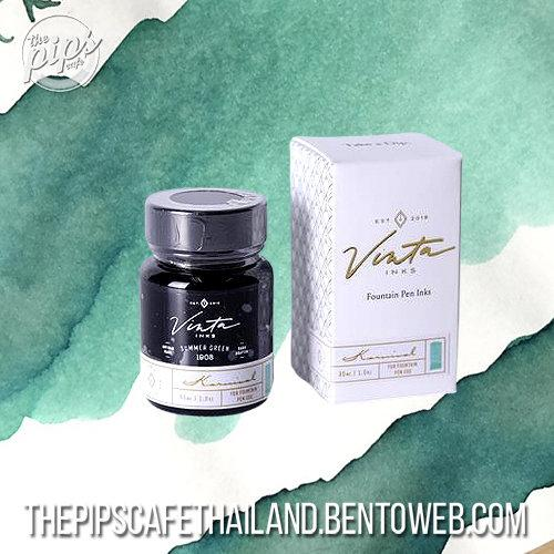 Vinta Ink : Summer Green [Karnival 1908] (30 ml.)