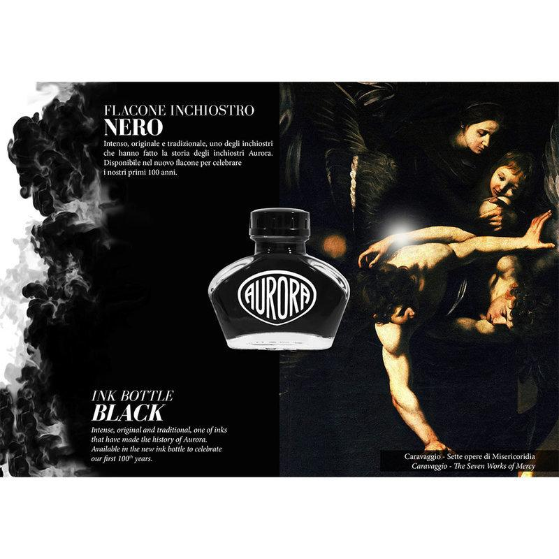 Aurora : 100th Anniversary Ink - Black (55ml.)