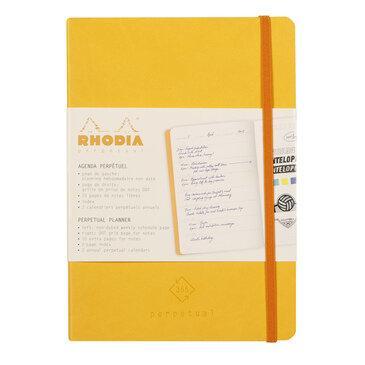Rhodiarama : Perpetual Softcover - A5 - Daffodil Yellow (1967)