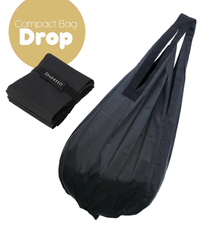 Shupatto Compact Bag - Drop - Black