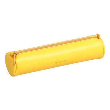 Rhodia : Round pencil case - Daffodil Yellow (9960)
