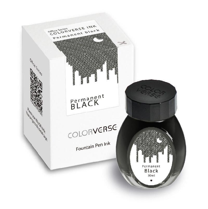 Colorverse Ink : Permanent Black (30 ml.)