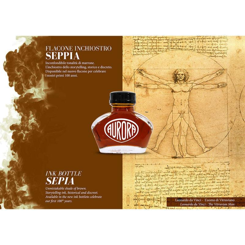 Aurora : 100th Anniversary Ink - Sepia (55ml.)