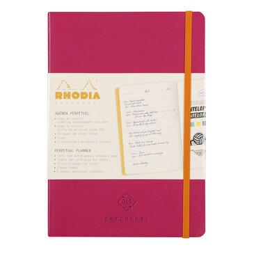 Rhodiarama : Perpetual Softcover - A5 - Raspberry (1929)