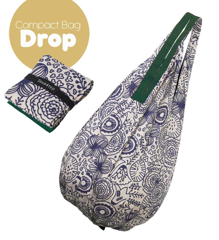 Shupatto Compact Bag - Drop - Flower