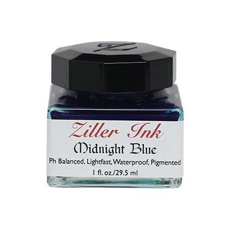 Ziller Ink - Midnight Blue (1 Oz.)