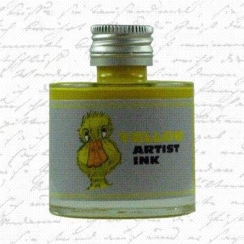 De Atramentis - Artist ink - Yellow (50ml.)