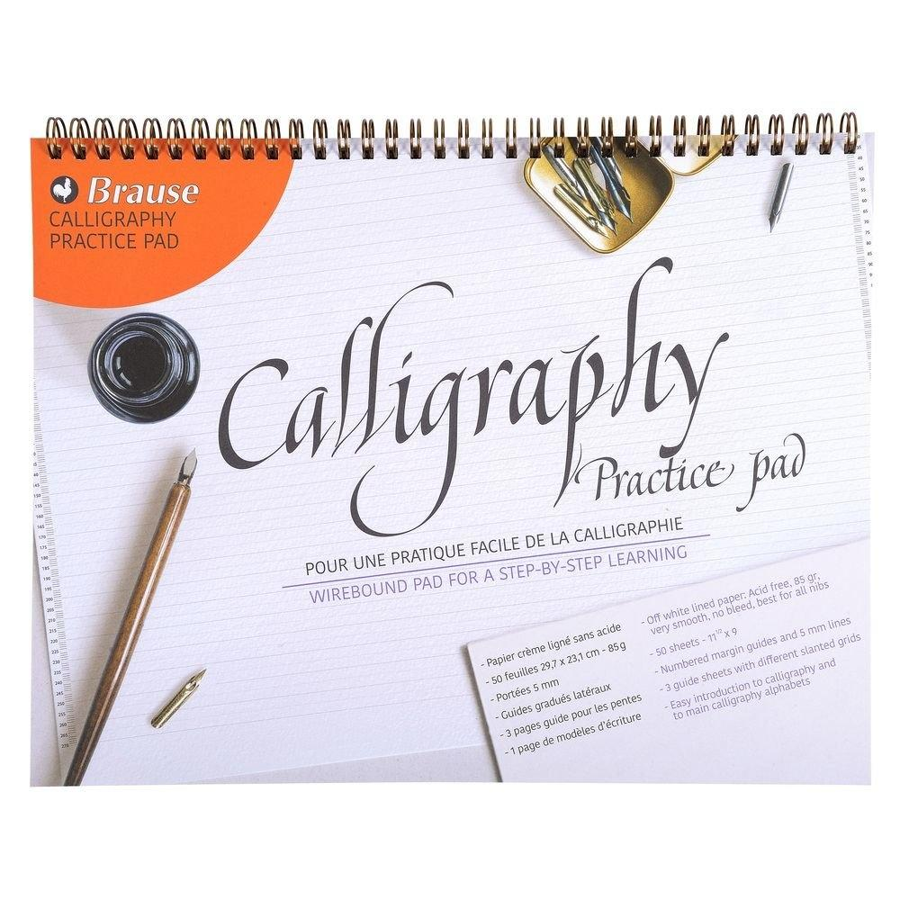 Brause : Calligraphy Practice Pad