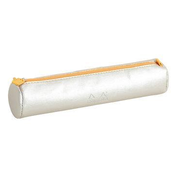 Rhodia : Round pencil case - Silver (8918)