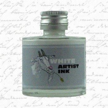 De Atramentis - Artist ink - White (50ml.)
